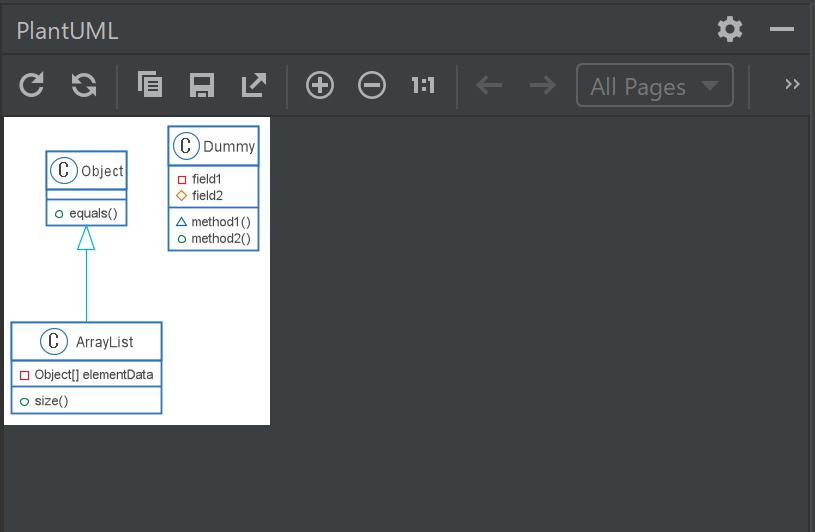 RiderでPlantUMLを使ってUnityのためのクラス図を書く