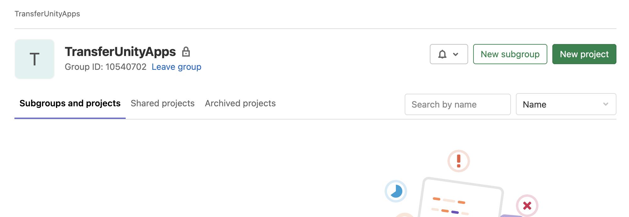 GitLabでプロジェクトを他のアカウントに移す方法